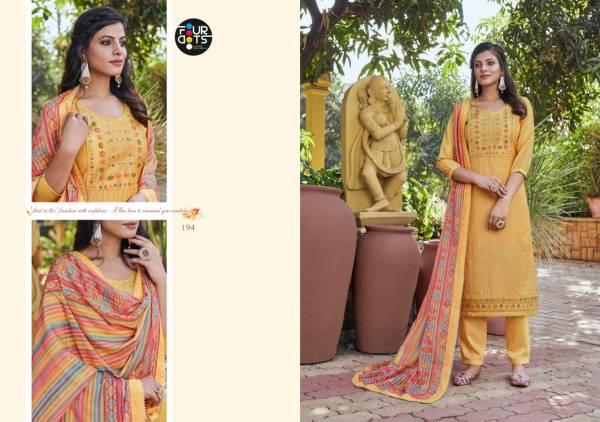 Four Dots Adira Muslin Sequence Work Reception Wear Designer Salwar Suit Collection