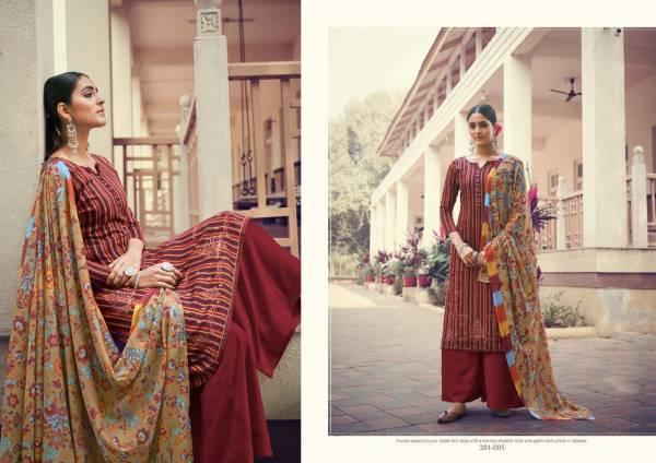Sargam Prints Zuri Pure Jam Embroidery Work Designer Palazzo Salwar Suit Collections