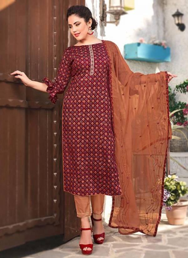 Shivam Kanak Series 24021-24030 New Designer Fancy Fabric Daily Wear Printed Salwar Suits Collection