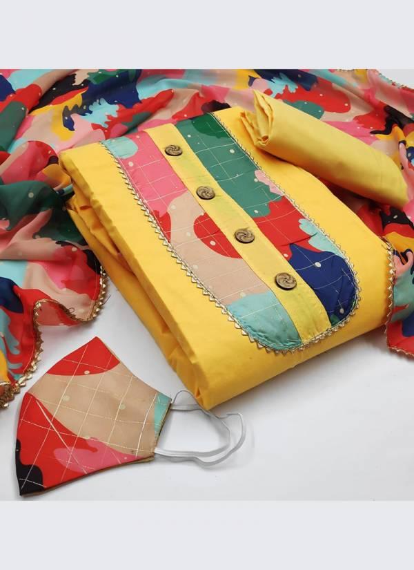 Designer Suits Series 1EA-5EA PC Cotton Digital Printed Trendy Casual Wear Salwar Suits Collection