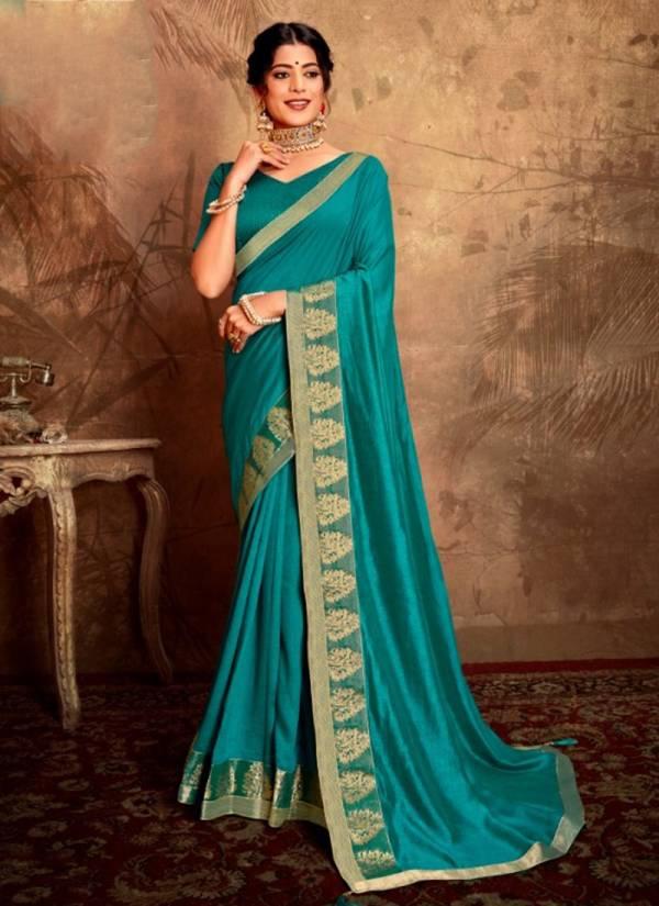 Seemaya Saheli Series 1501-1508 Vichitra Silk Blooming Big Border Festival Wear Sarees Collection