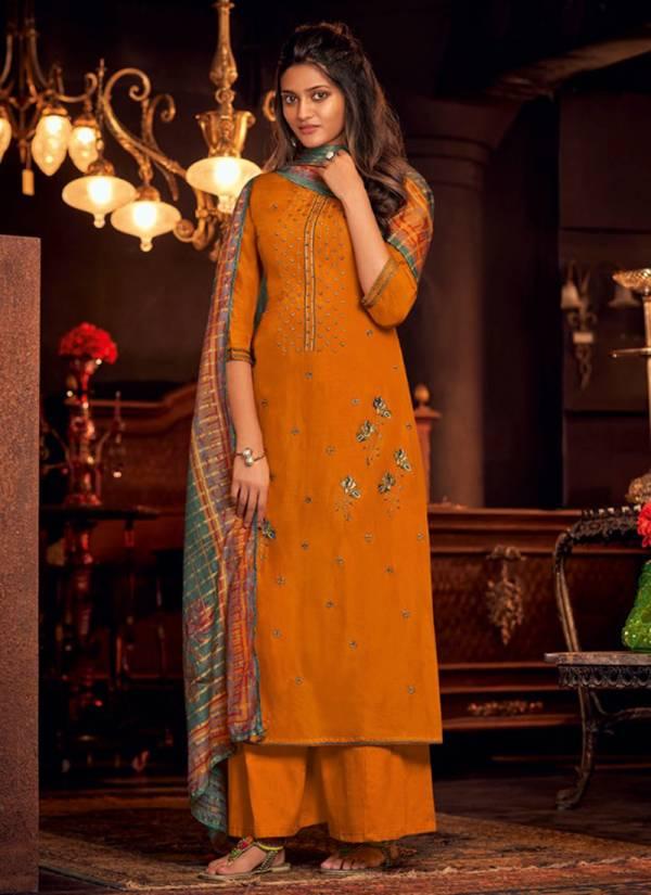 Jay Vijay Naayab Vol 3 Series 2221-2230 Bemberg Silk With Embroidery & Hand Work Designer Salwar Suits Collection