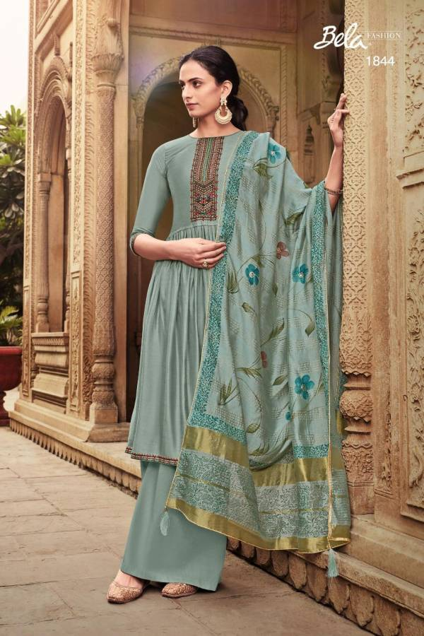 Bela Fashion Masakali Vol 5 Cotton Silk With Work Festival Wear Palazzo Suits Collection