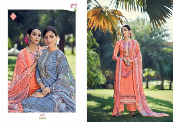 Tanishk Fashion Aarna Pure Lawn Cotton Casual Wear Palazzo Suits Collection