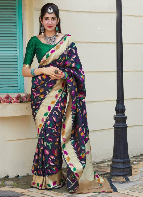 Manjubaa Manyata Silk Series 3601-3606 Banarasi Silk Diwali Special Sarees Collection