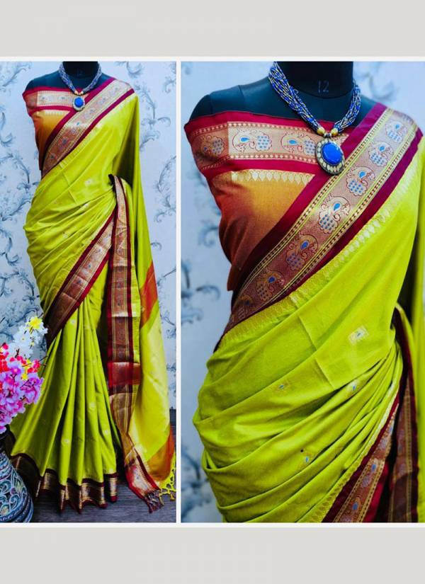 Redolence Heavy More Paithani Series 1-6 Pure Cotton Silk Maharastra Special Traditional Wear Sarees Collection