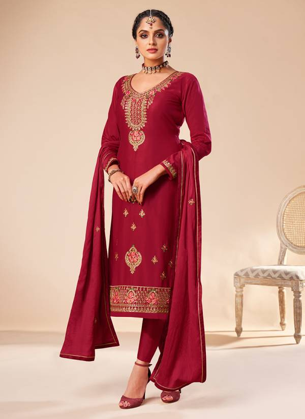 Seven Elegance Gulkayra Designer Shehnaz Series 1011-1016 Jam Silk With Heavy Embroidery Work Party Wear New Designer Salwar Suits Collection