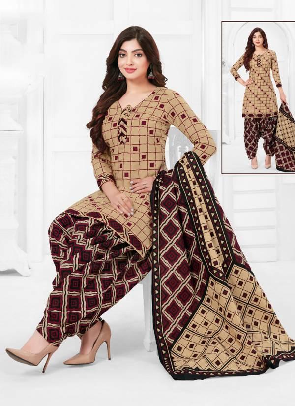 Baalar Colourful Vol 5 Series 504-533 Cotton Printed Punjabi Style Designer Regular Wear Readymade Patiyala Suits Collection