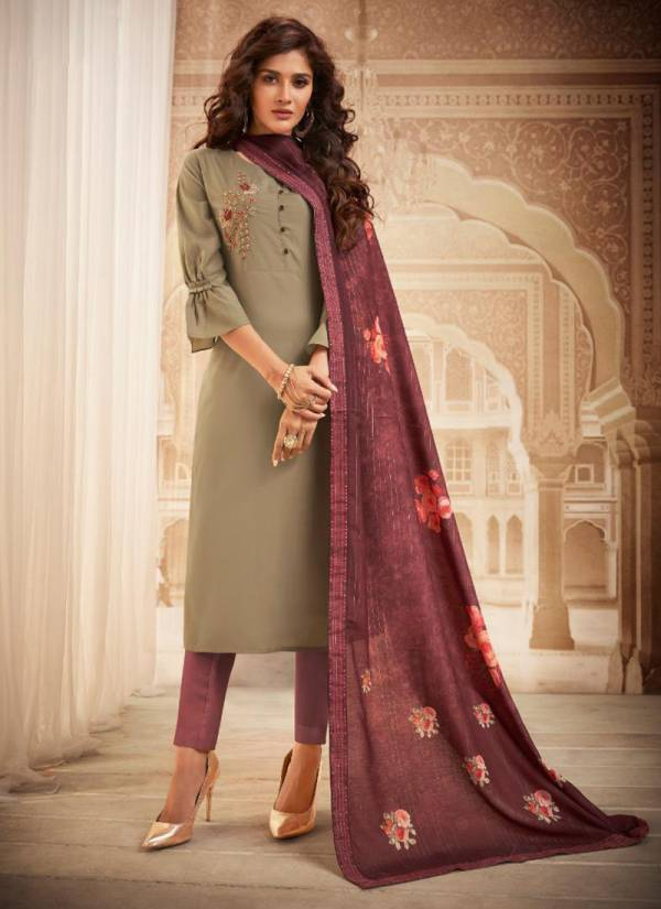 An Bazaar Royale Series Royale711-Royale716 Heavy Muslin With Embroidery Work Festival Wear Suits Collection
