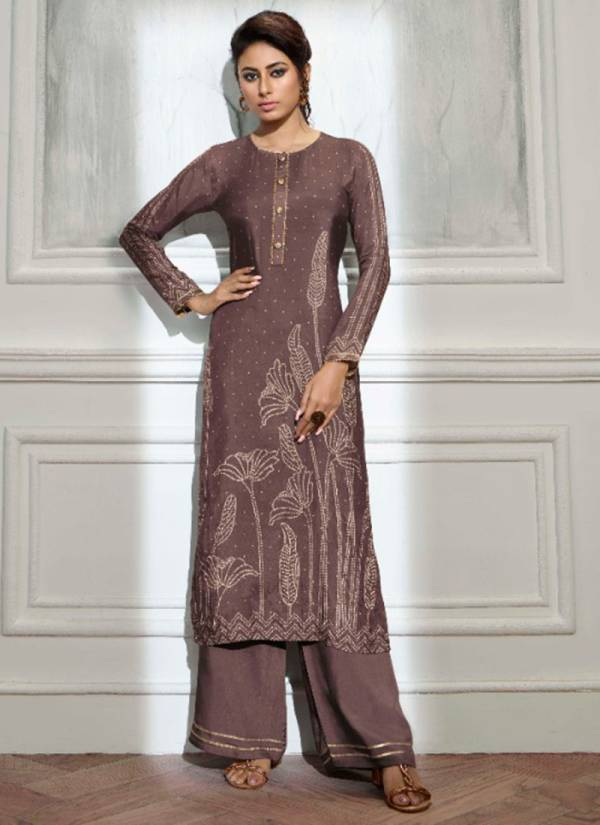LT Bandhani Pure Viscose Masline Digital Printed Work Ready Made  Designer Palazzo Suits Collection