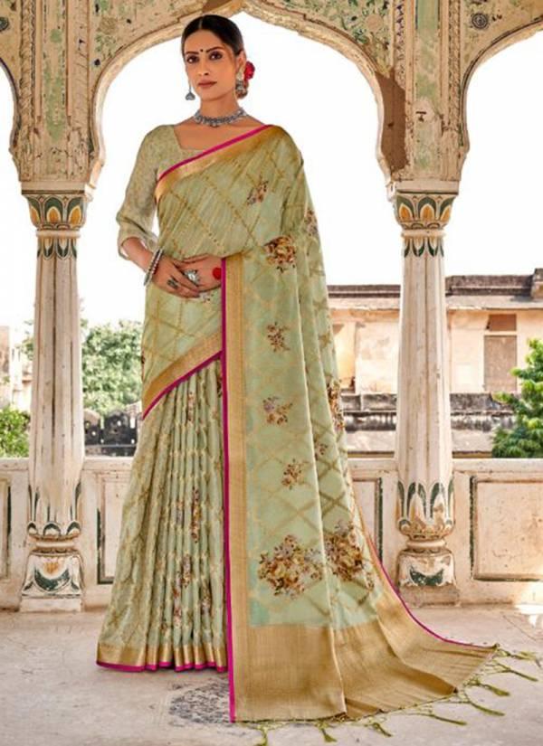 LT Fabric Muslin Silk Series MUSLINSILK-32001-MUSLINSILK-32010 Muslin Silk With Digital Printed Latest Designer Heavy Party Wear Sarees Collection