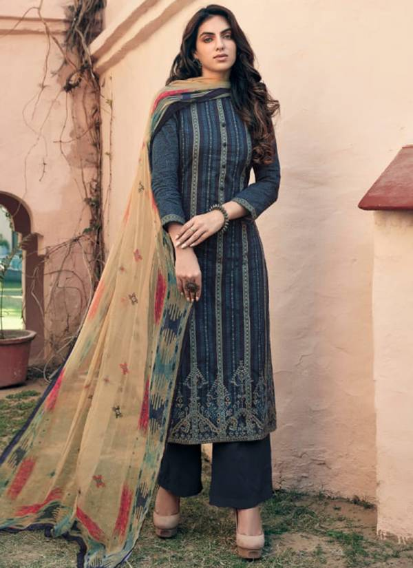 Sarg Imperial Cambric Embroidery With Digital Printed Fancy Look Salwar Suits Collection
