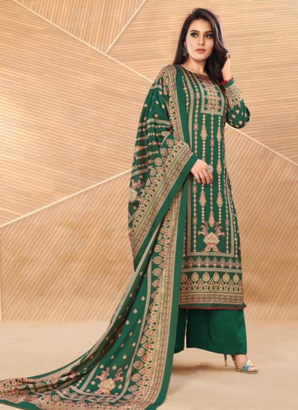 Bipson Elegance Series 1033-1036 New Designer Tussar Silk Digital Print Suits collection