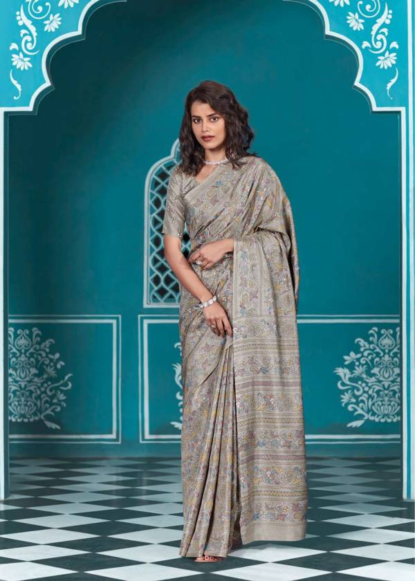 Shangrila Lucknowi Soft Silk Party Wear Sarees Collection