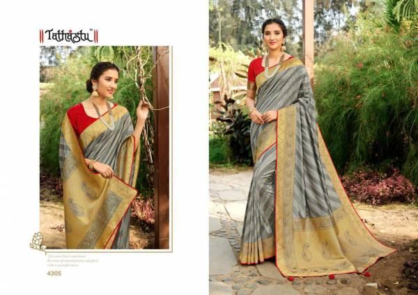 Tathastu Silk Designer Fancy Reception Wear Sarees Collection