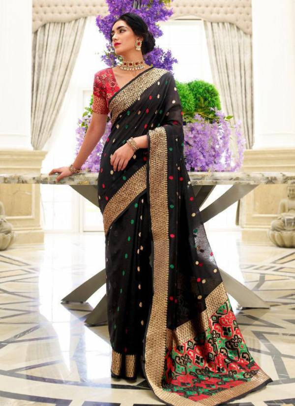 Rajtex Kankara Silk Chanderi Patola With Rich Pallu Festival Wear Designer Sarees Collection