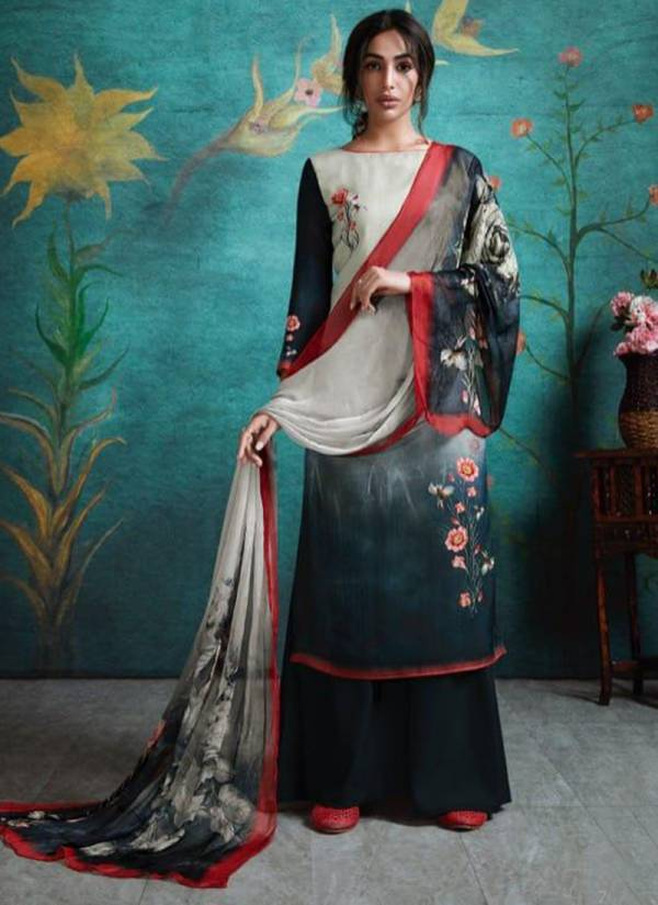 Winter Series 7001-7006 Pashmina Digital Print New Stylish Suits Collection