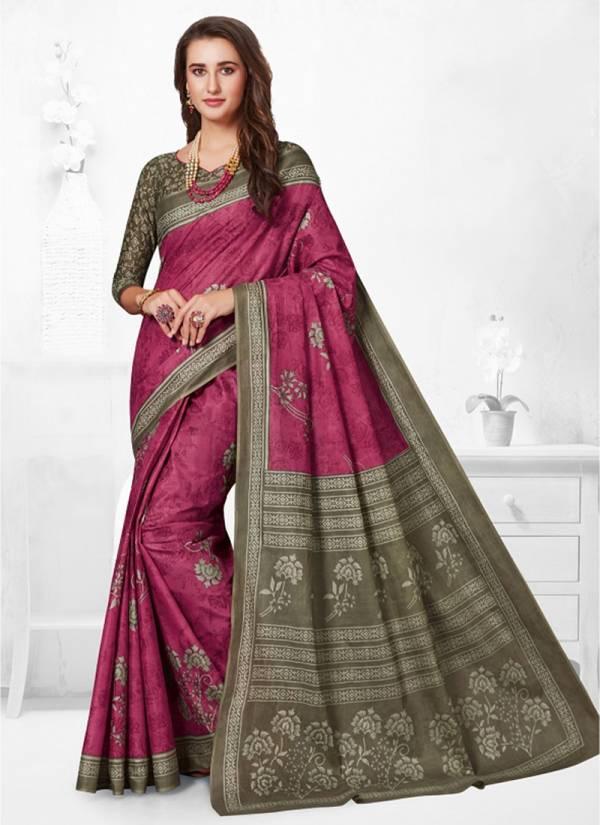 JK Cotton Club Vaishali Cotton Series 1001-1020 Pure Cotton Printed Latest Designer Casual Wear Sarees Collection