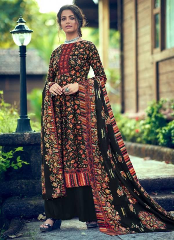 Levisha Femina Vol 9 Series 82013-82020 Latest Designer Pure Pashmina Kani Print Winter Suits Collection