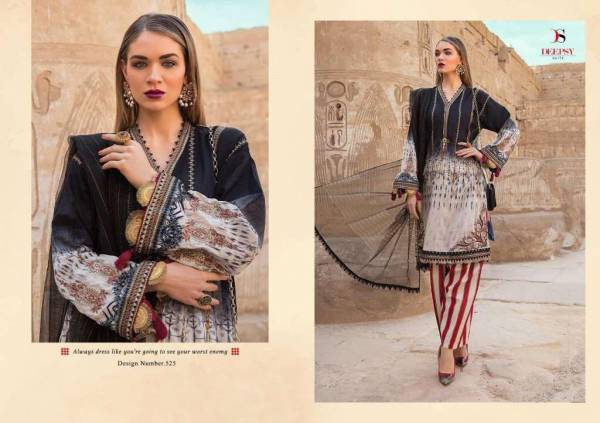 Shree Fab Mari B Lawn Collection 05 Series 524-528 Pure Jam Cotton Printed With Exclusive Heavy Embroidery Work Pakistani Style Salwar Suits Collection