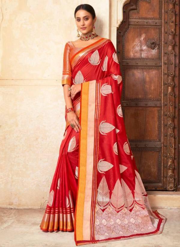Lifestyle Chandrakala Vol 6 Series 66381-66386 Stylish Look Silk Designer Party wear Sarees Collection