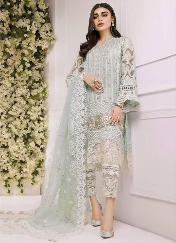 RTS Heavy Net And Georgette With Heavy Work Pakistani Suits Collection