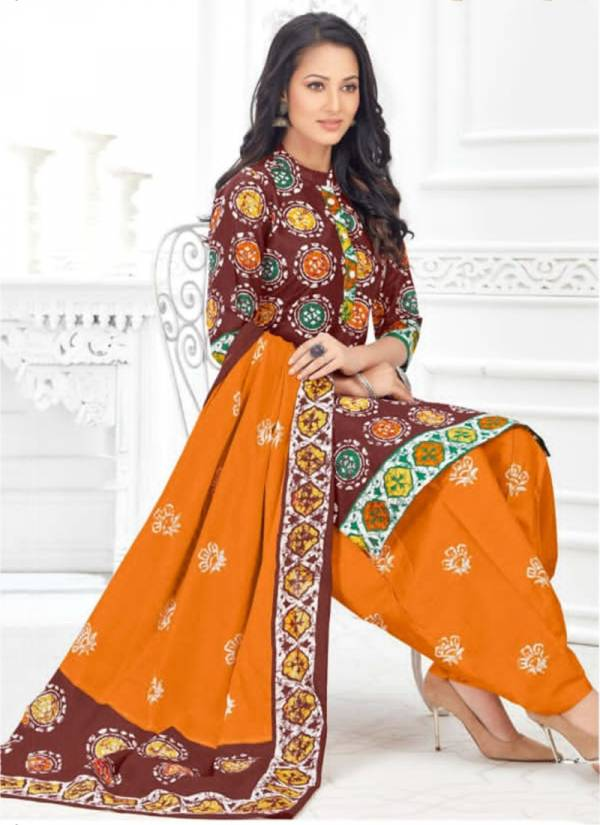 Laado Print Batik Special Vol 2 Series 2001-2010 Pure Cotton Printed New Fancy Daily Wear Patiyala Suits Collection