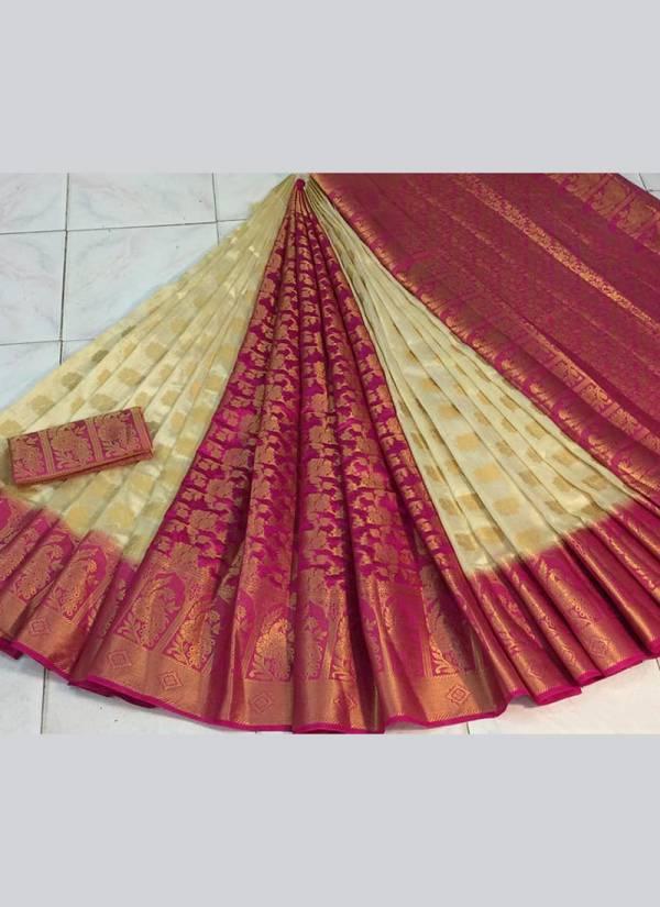 Nakshatra Fashion Studio Silk With Zari Weaving With Reach Pallu Festival Wear Designer Sarees Collection