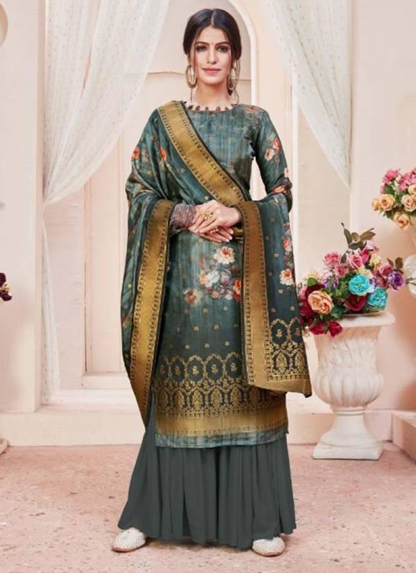 Lavina Vol 113 Series 113-001 - 113-007 Pure Dola Silk Digital Prints Fancy Salwar Suits Collection