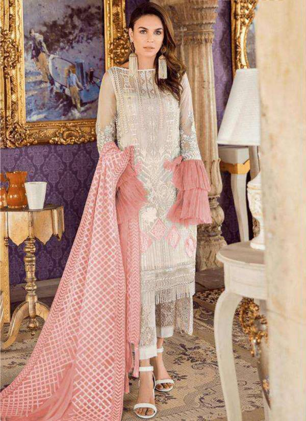 Fepic Series 452F-77003 Georgette Net Latest Designer Ramzan Eid Special Party Wear Pakistani Suits Collection