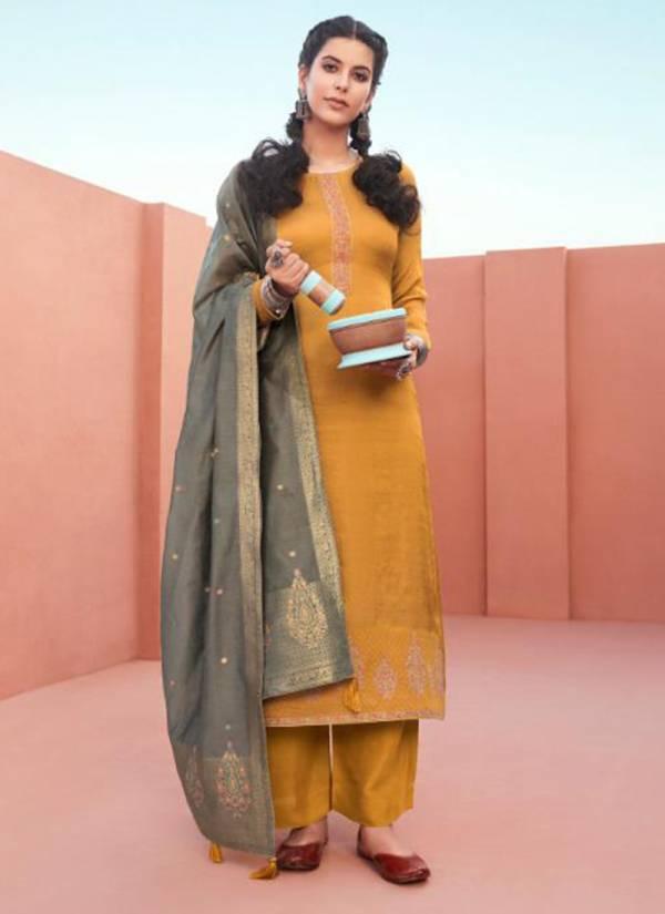 Aashirwad Mor-bagh Chandrakanta Series 8325-8330 Premium Silk New Designer Eid Special Palazzo Suits Collection