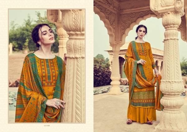 Zulfat Designer Suits Winter Affair Vol 2 Series 215-001-215-010 Pure Pashmina Digital Style Print Casual Wear Festival Wear Suits Collection