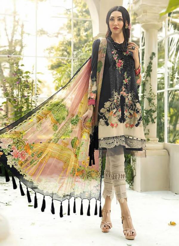 Shree Fab Maria B Series 1414-1419 Winter Special Pure Pashmina Digital Printed Exclusive Work New Designer Pakistani Suits Collection