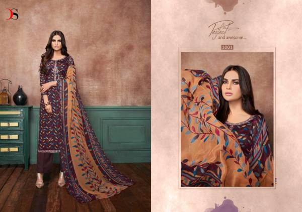 Deepsy Suit  Anaya Pura Cotton Fancy Print With Embroidery Designer Salwar Suits Collection