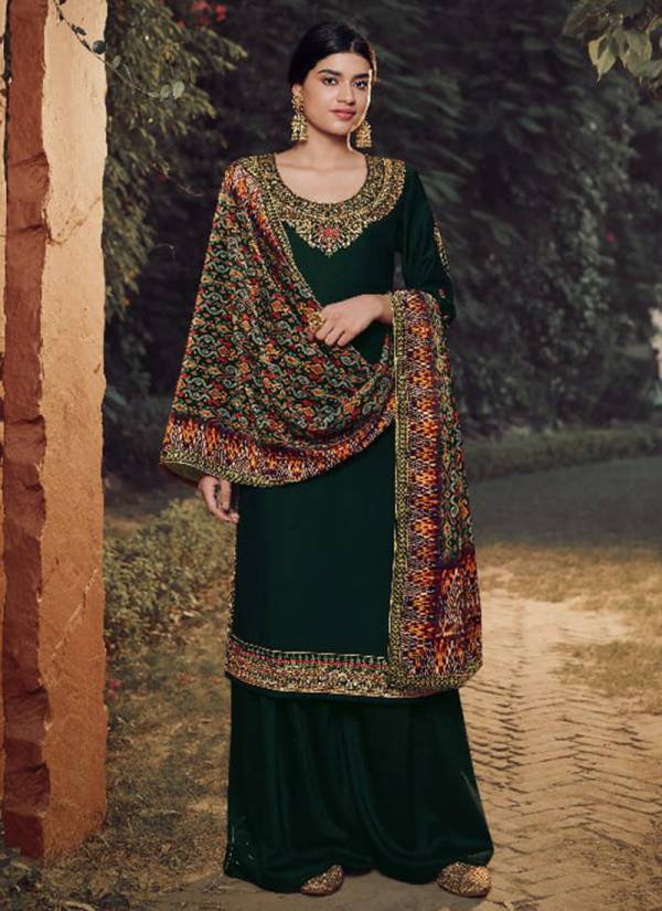 Fiona Gulfam Series 22931-22936 Soft Silk With Designer Hand Work Party Wear Palazzo Suits Collection