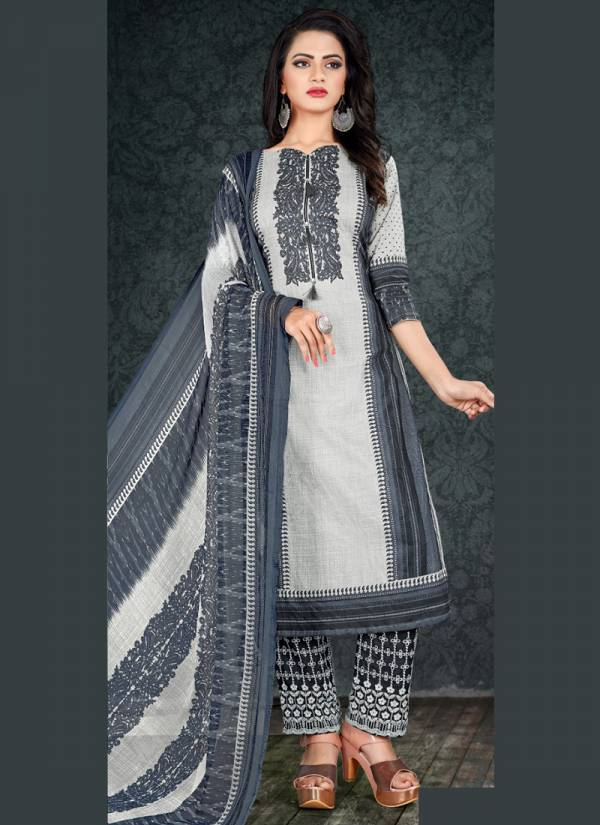 Bipson AAA Satin Cotton Printed   Salwar Suits Collection
