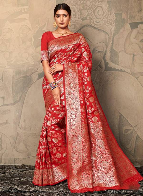 Mintorsi Glamour Vol 2 Series BS23001-BS23005 Wedding Wear Exclusive Designer Soft Banarasi Silk Wedding Wear Sarees Collection