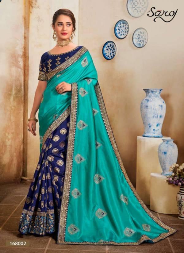 Saroj Kolaveri Vichitra Silk With Viscose Banarasi Type Sarees Collection