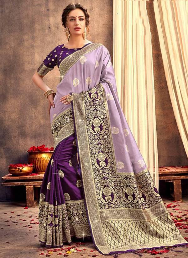 Stylewell Lavanya Vol 2 Series 1041-1048 Latest Designer Banarasi Silk Stone Work Sarees Collection