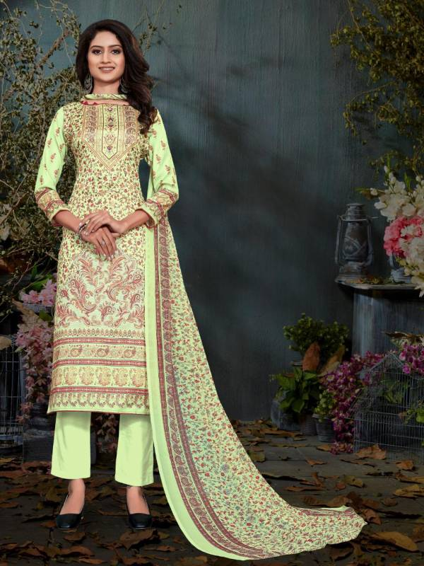 Bipson Digital Queen 1331 Cotton Satin Digital Printed Casual Wear Suits Collection
