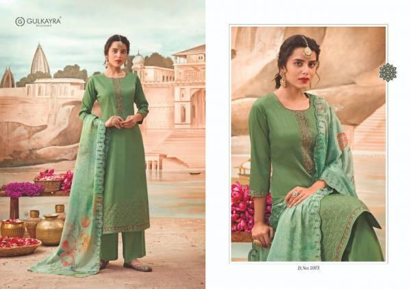 Gulkayra Designer Naaz Jam Silk With Heavy Work Palazzo Suits Eid Collection