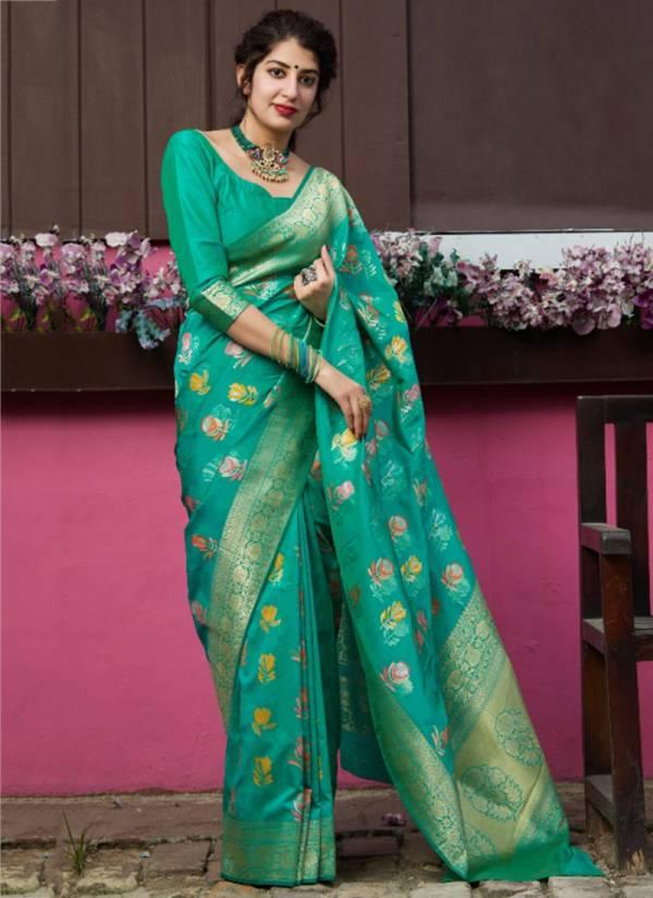 Manjubaa Premium Collection Series 4007-4012 Silk Wedding Fancy Sarees Collection