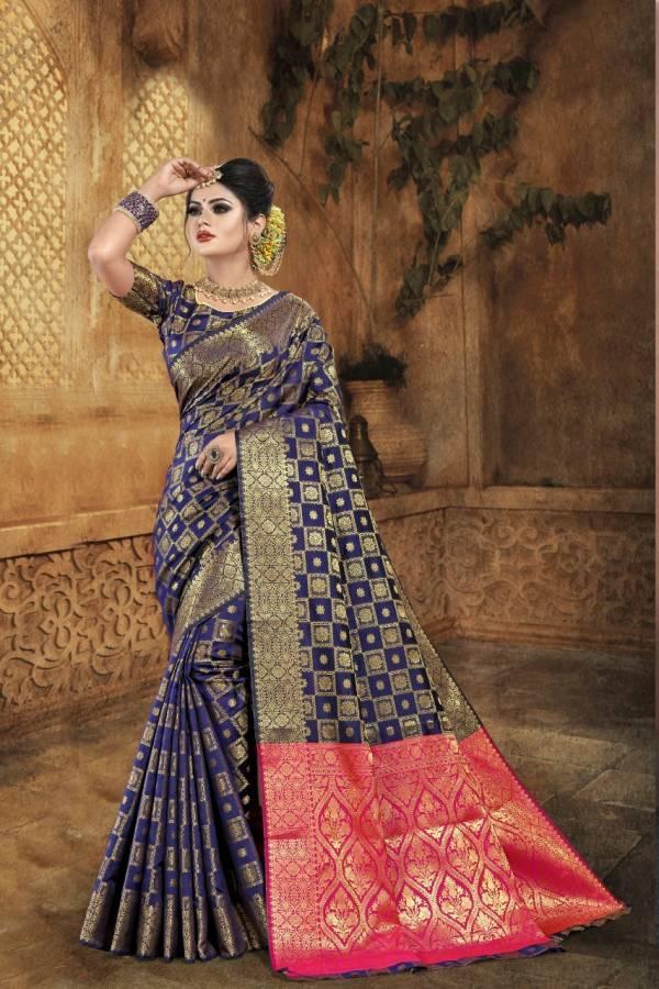 Nakshatra Fashion Studio Non Catalog Vol 5 Series NON-A - NON-F Banarasi Soft Silk With Zari Weaving Reach Pallu Designer Wedding Wear Sarees Collection