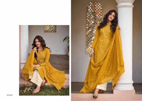 Deepsy Suit Kathakali Lawn Cotton Hand Embroidery Work Designer Palazzo Suit Collection
