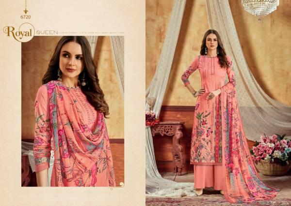 Levisha Kohinoor Vol 2 Satin Cotton Digital Style Printed Palazzo Suits Collection