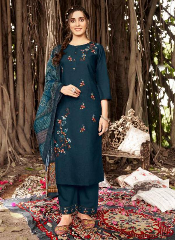 Sweety Fashion Barlin Liquid Ready made Fancy Attractive Salwar Suits Collection