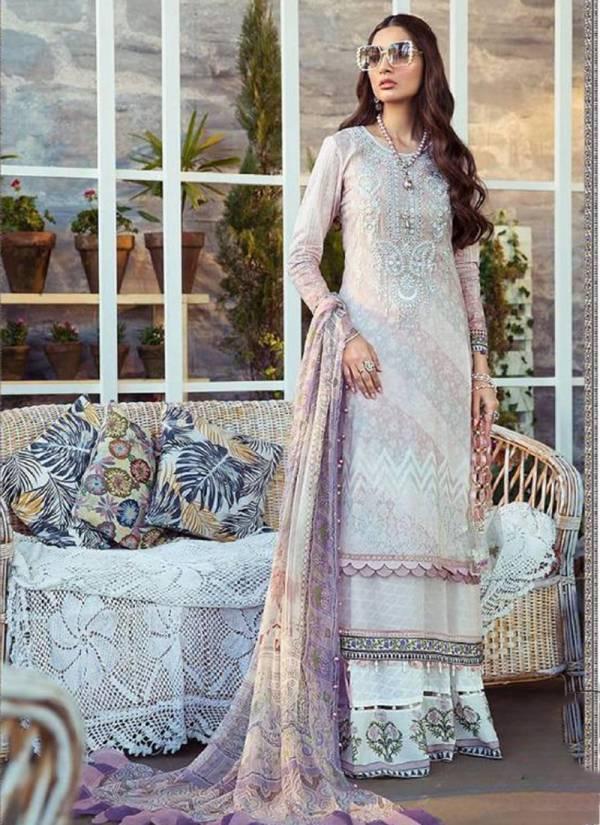 Fair Lady Mariya B Pure Jam Satin Digital Printed Pakistani Suits Collection