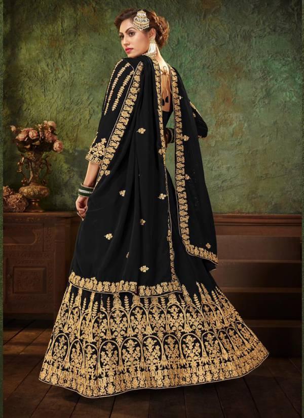 Senhora zarin Vol 23 Pure Georgette  Embroidery And Diamond Work Wedding Wear Designer Anarkali Suit Collection