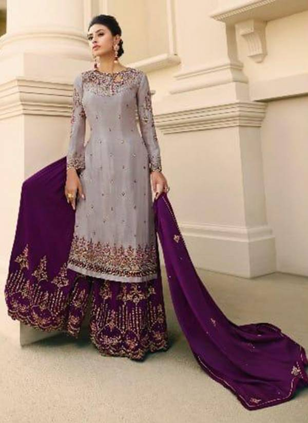 Fiona Noorie Vol 12 Series 22821-22827 Pure Chinon With Designer Embroidery & Hand Work Wedding Wear Suits Collection