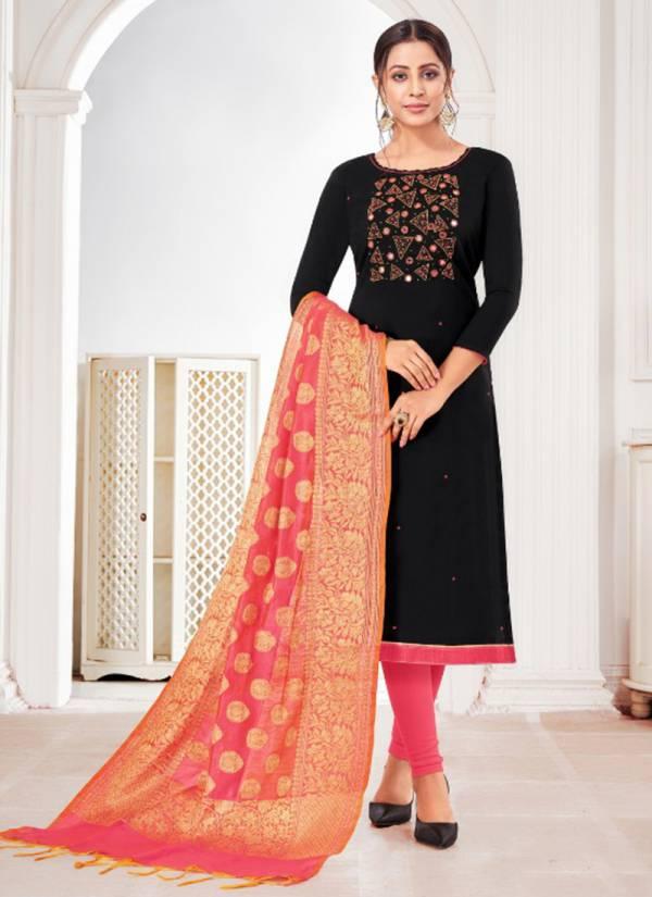 Kapil Tex Life Line-Vol 2 Banarasi Silk attractive Work Daily Wear Styles Salwar Suits Collection